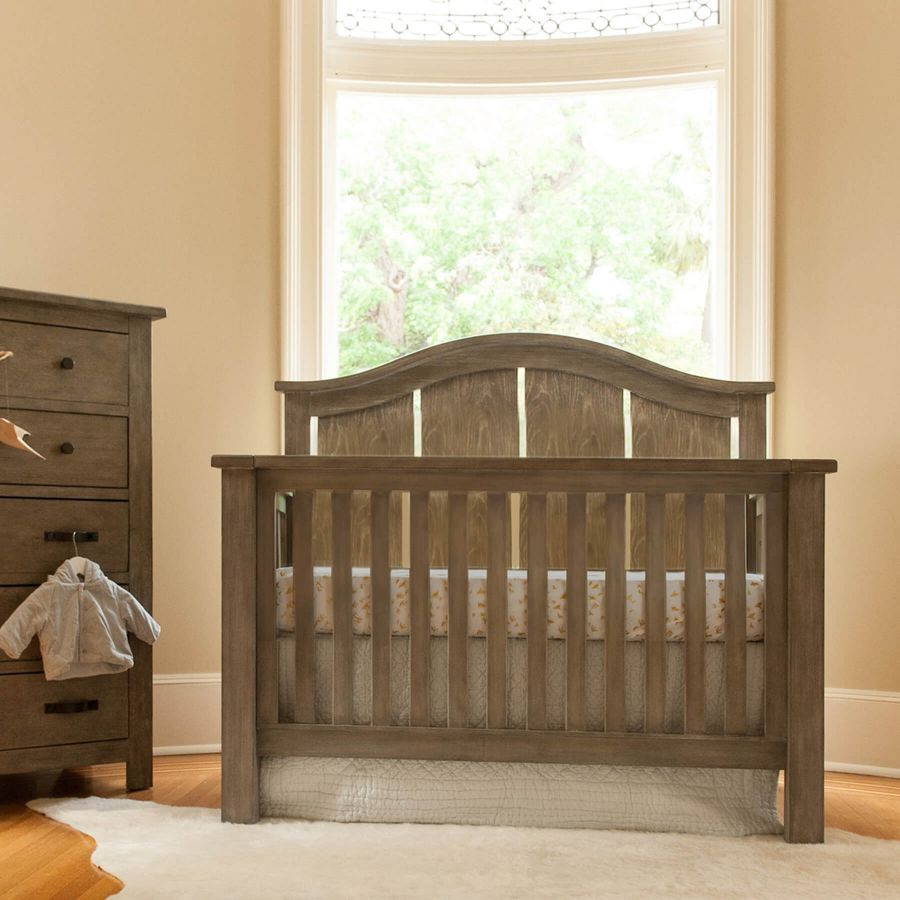 Milk Street Baby Relic Arch Convertible Crib - Fossil