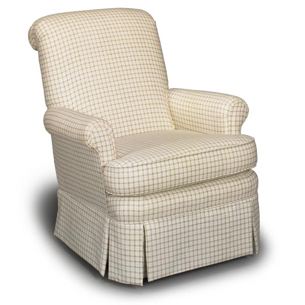 Noah Custom Fabric Nursery Swivel Glider Chair