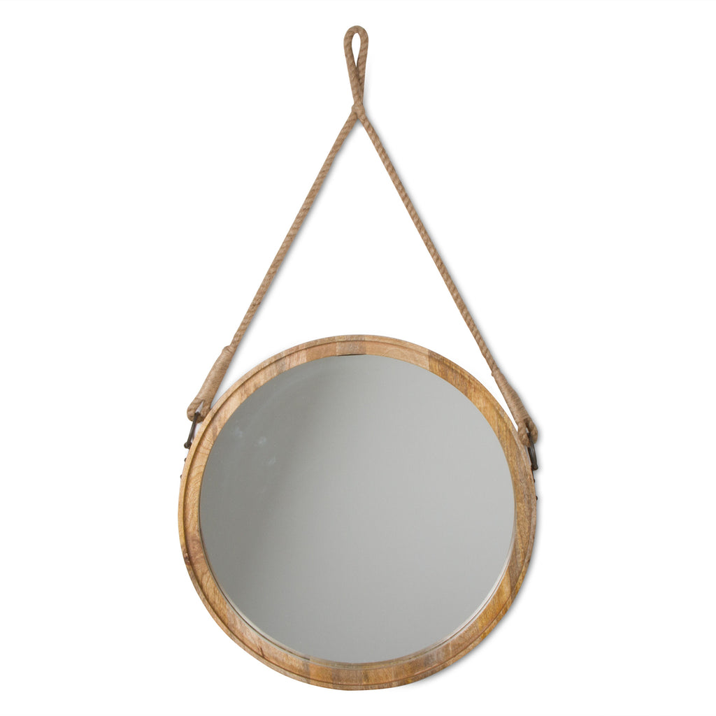 TAG Mango Wood Mirror Wall Decor