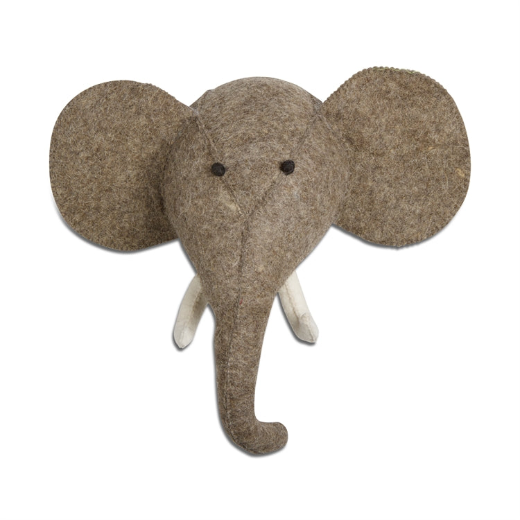 TAG Dark Gray Elephant Wall Decor