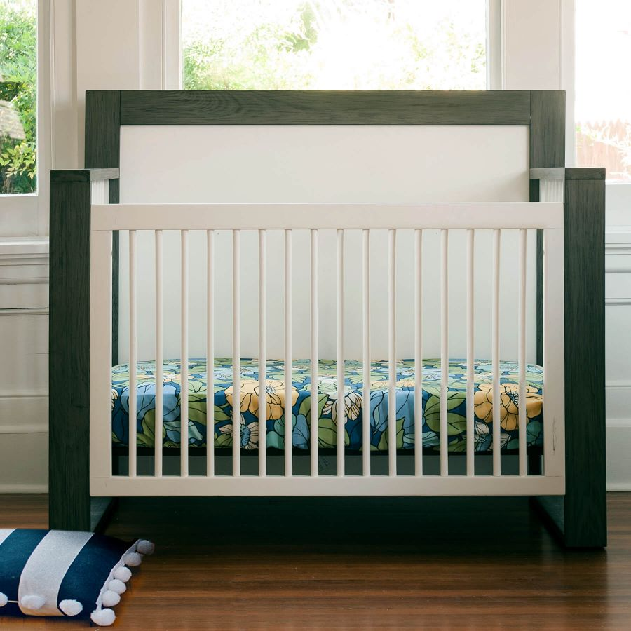 Milk Street Baby True Convertible Crib - Mud and Snow