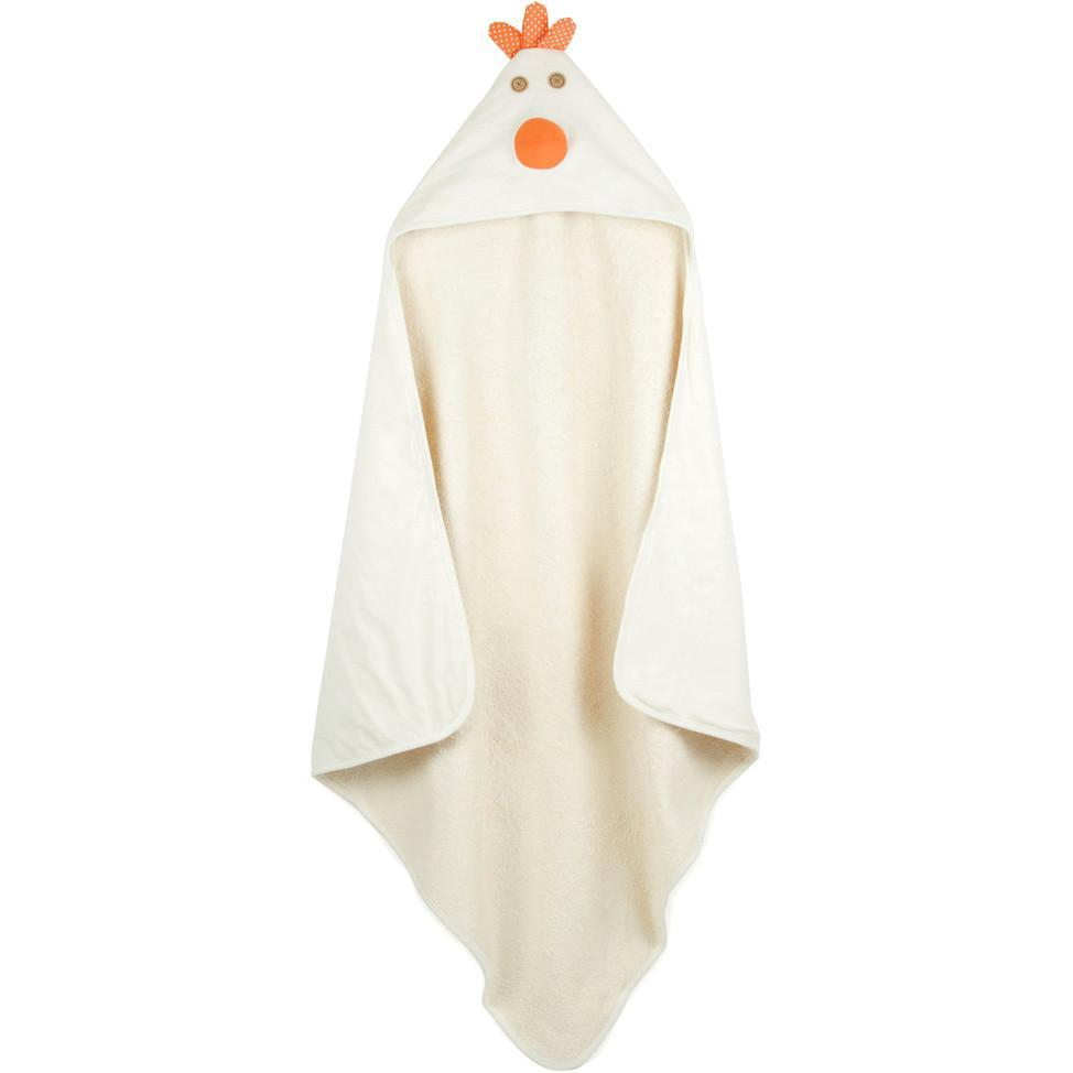 3 Sprouts Hooded Towel Chicken