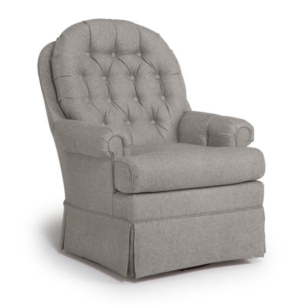 Benjamin Custom Fabric Nursery Swivel Glider Chair