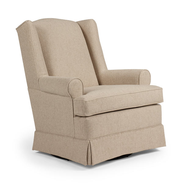 Ryan Custom Fabric Nursery Swivel Glider Chair