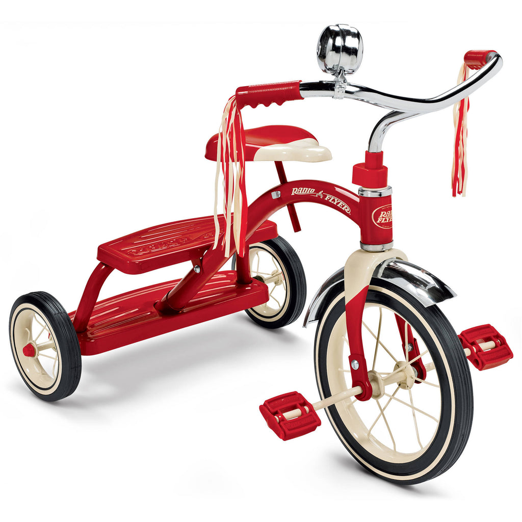 Radio Flyer Classic Dual-Deck Tricycle - Red