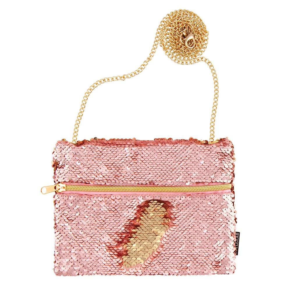Fashion Angels Rose Gold Sequin Hip Bag