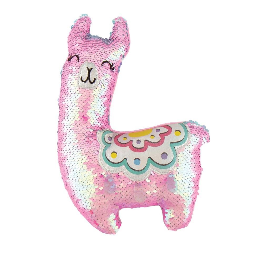 Fashion Angels Sequin Plush Llama
