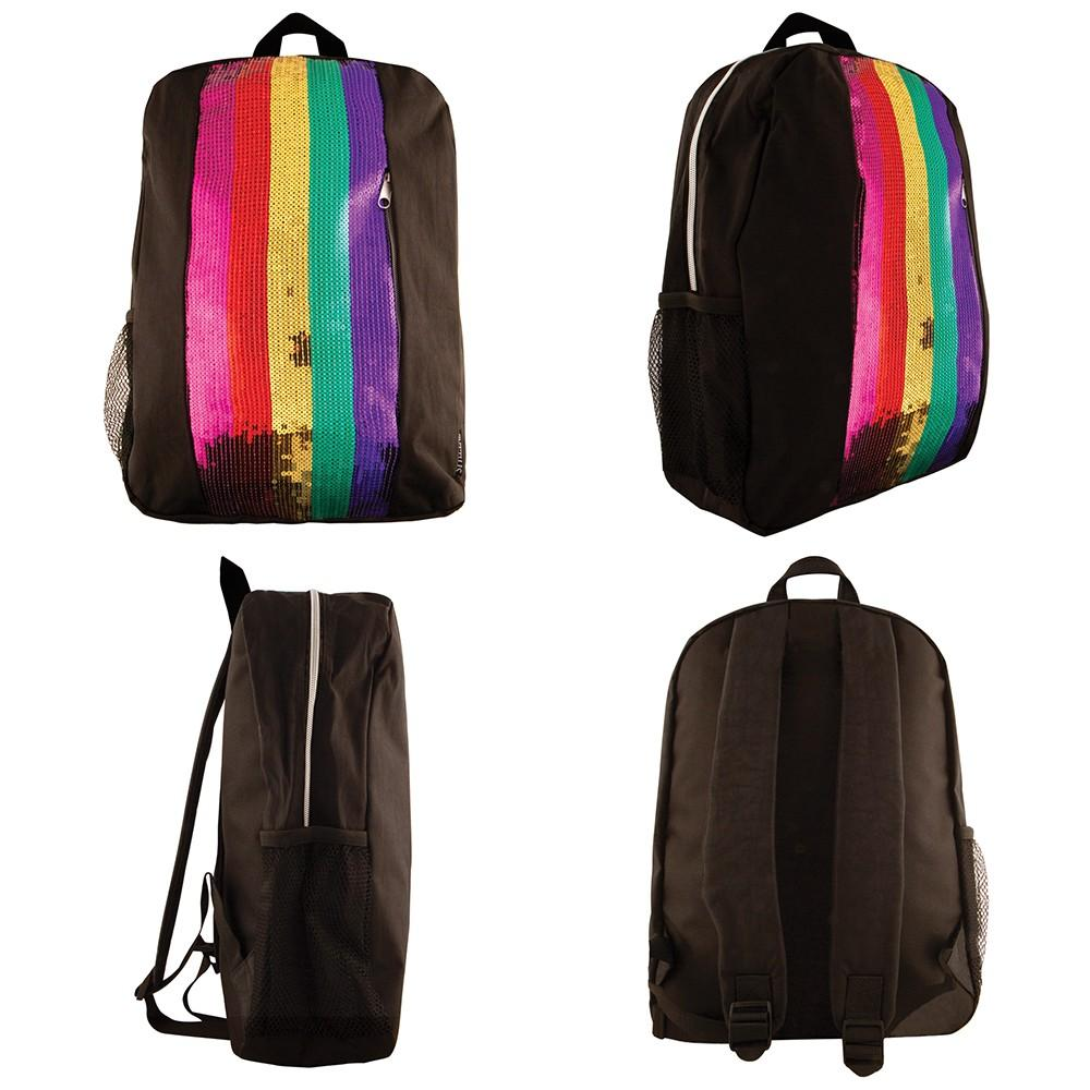 Fashion Angels Rainbow Stripe Backpack