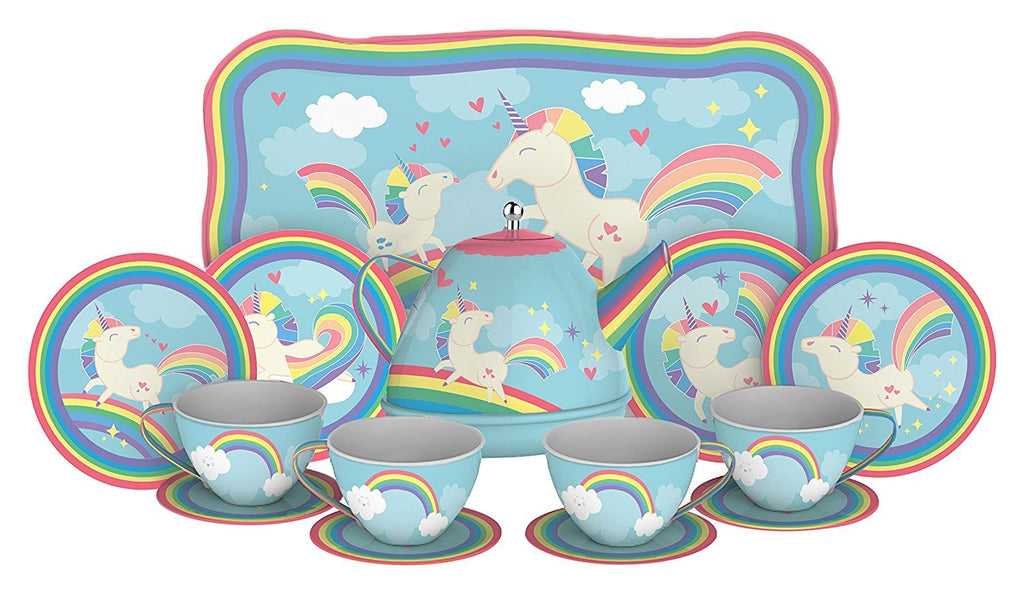 Schylling Unicorn Tea Set