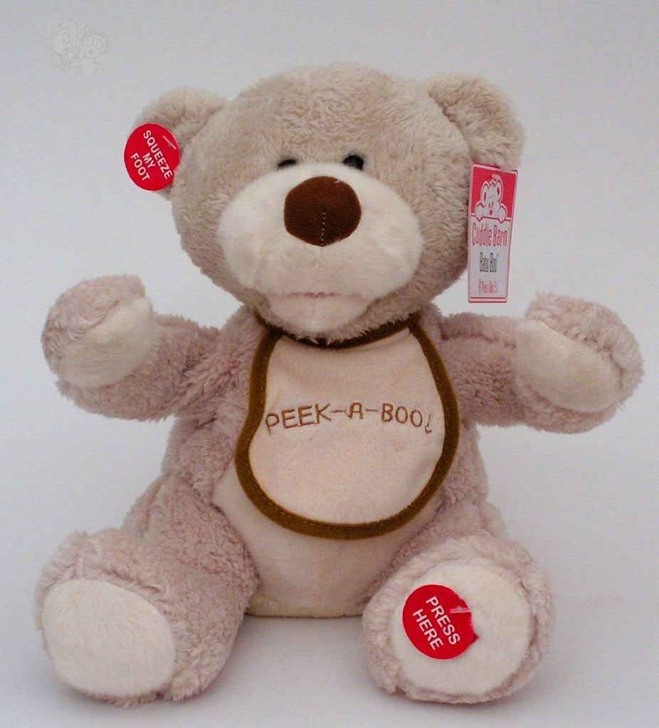 "Cuddle Barn 11"" Peek a Boo Bear"