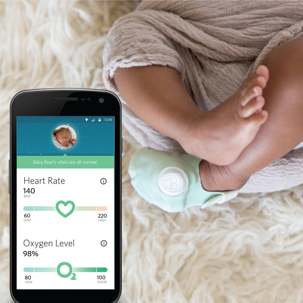 Owlet Care Smart Sock 2 Monitor Alert System