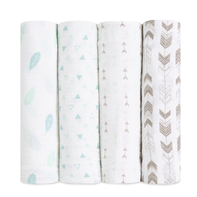 Aden + Anais Brixy Outdoorsy 4 Pack Classic Swaddles