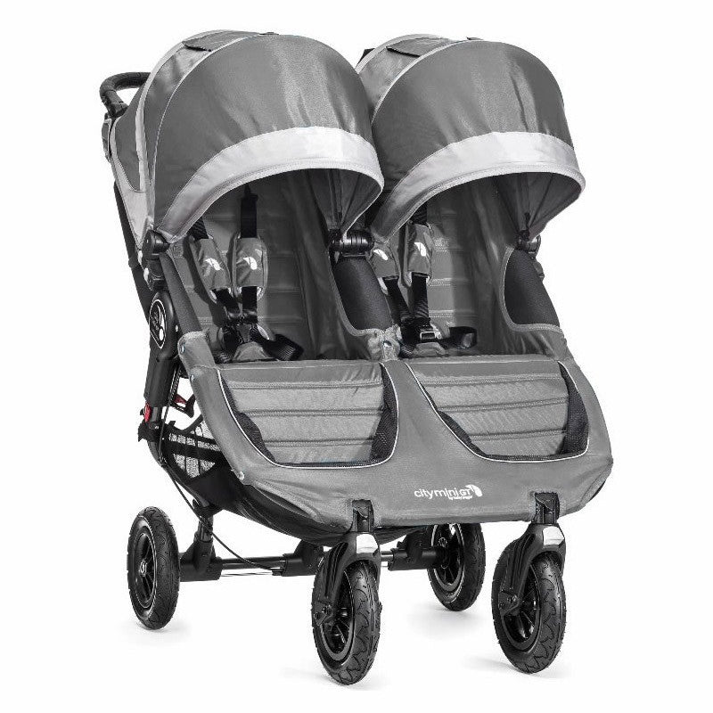 Baby Jogger City Mini GT Double - Steel/Grey