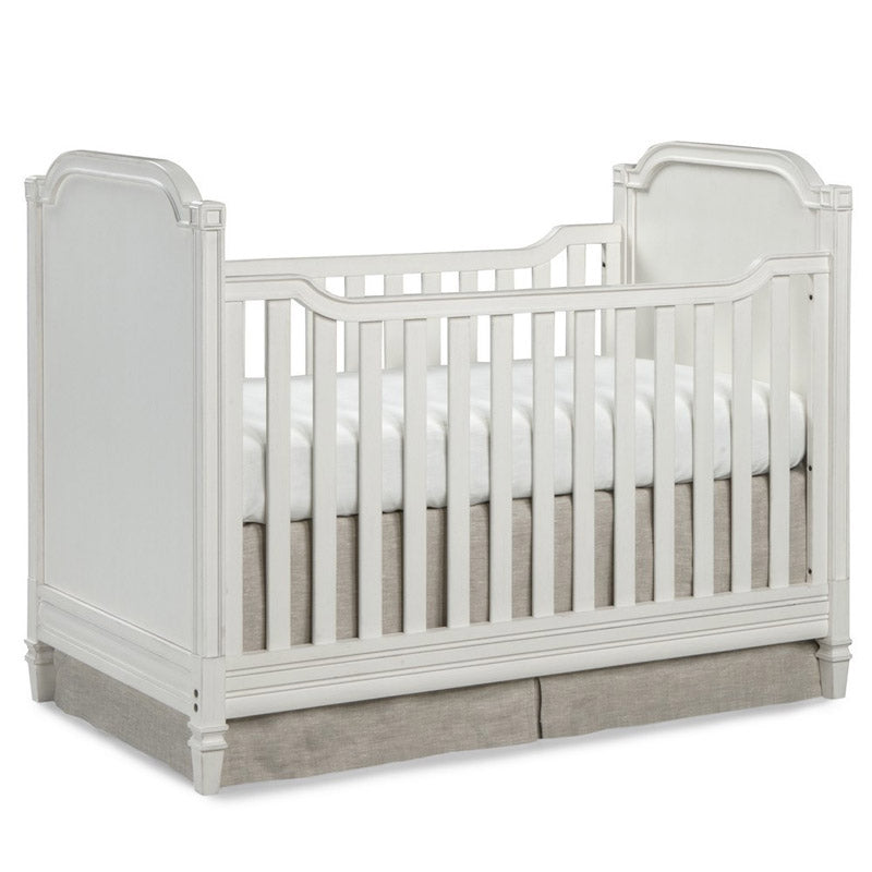 Brixy Haven Cottage Crib - White Linen