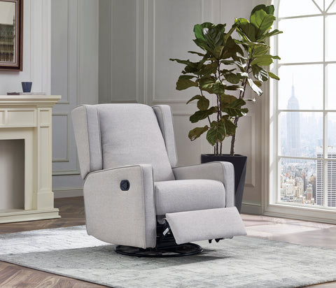 Chelsea Glider Recliner in Grey