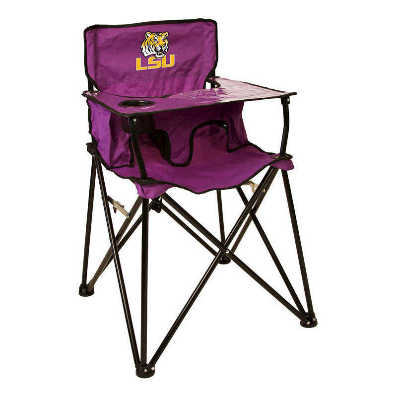 Ciao Baby Louisiana State University Tigers Portable High Chair