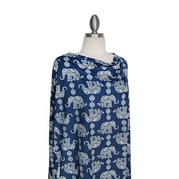 Covered Goods Boho Elephant 4-in1 Nursing Cover