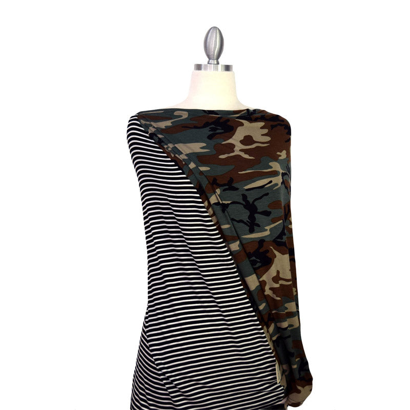 Covered Goods Camo Mismatch 4-in-1 Nursing Cover