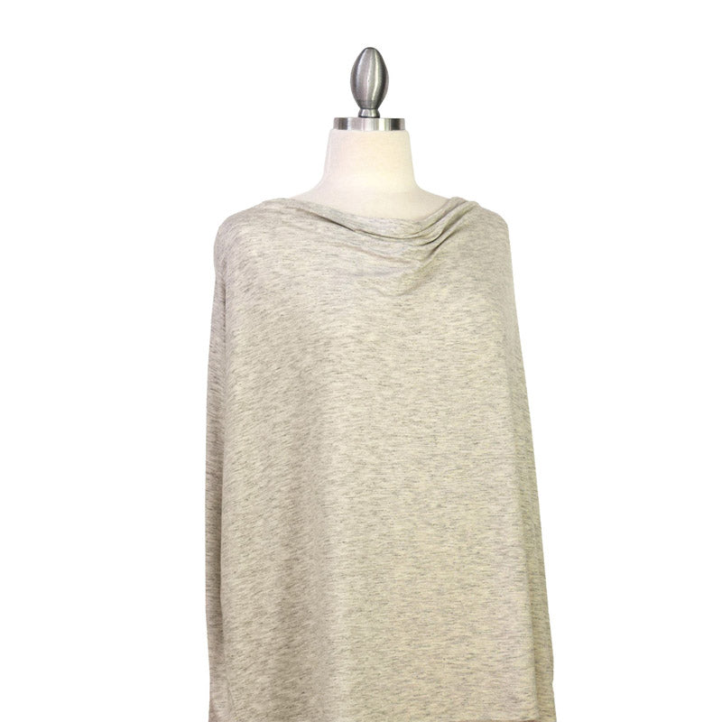 Covered Goods Heather Grey 4-in-1 Nursing Cover