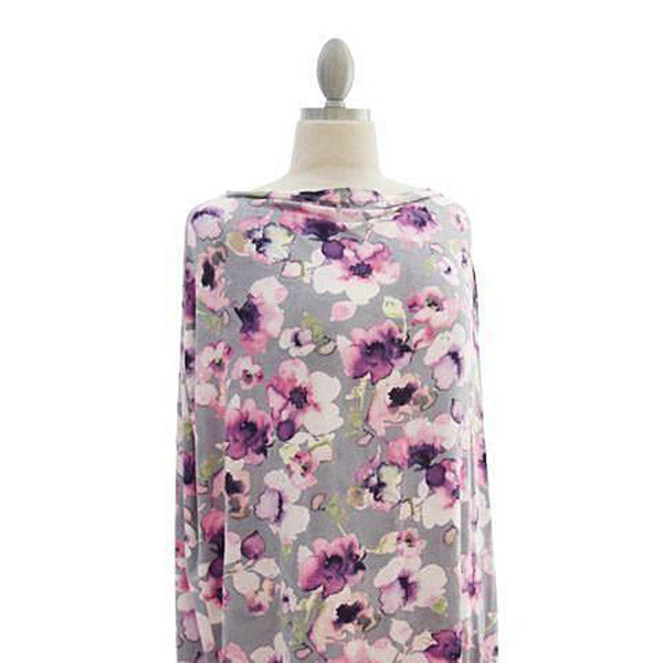 Covered Goods Painted Floral 4-in1 Nursing Cover