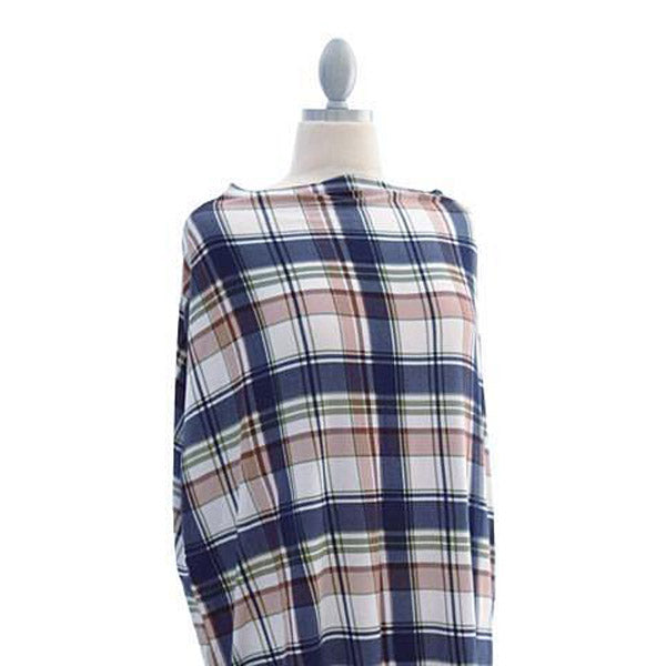 Covered Goods Plaid 4-in1 Nursing Cover