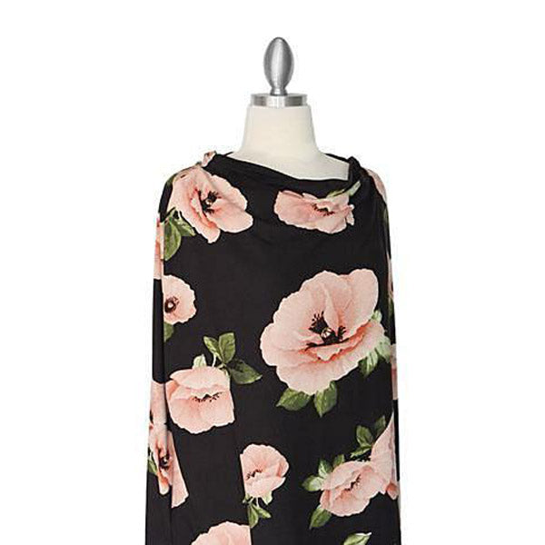 Covered Goods Poppies 4-in1 Nursing Cover