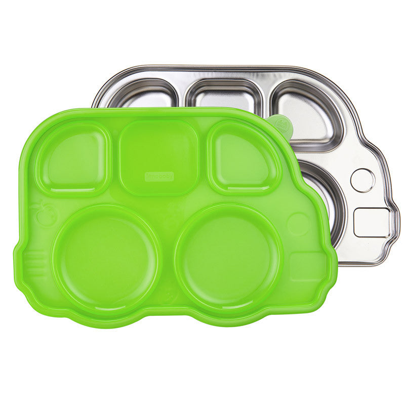 Innobaby Din Din Smart Divided Platter - Green