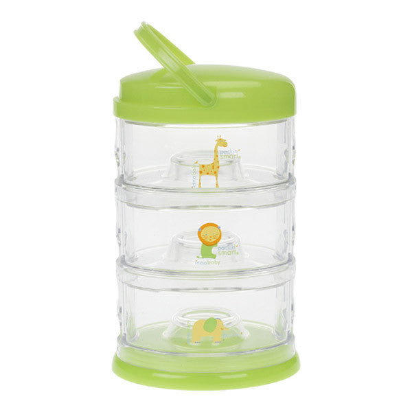 Innobaby Packin' Smart 3 Tier - Zoo Animal/Lime