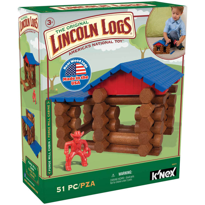 Lincoln Logs Forge Mill Cabin