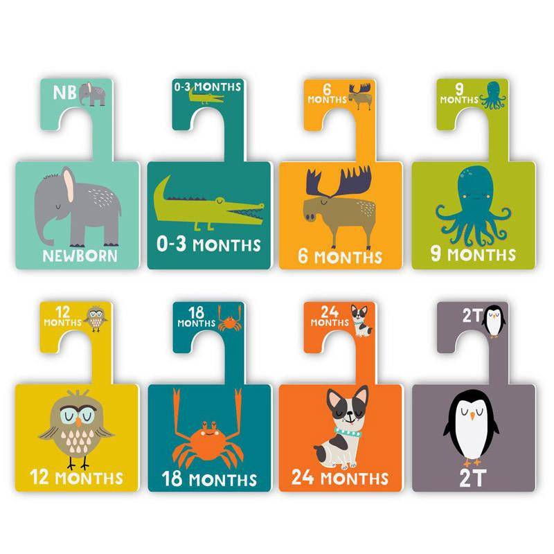 Lucy Darling Little Animal Closet Divider Set