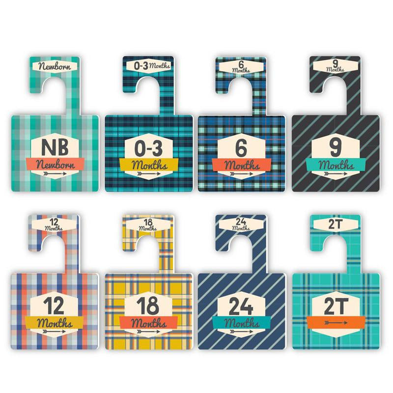 Lucy Darling Little Gentleman Closet Divider Set