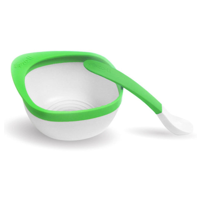 Zoli MASH Bowl & Spoon Kit - Green