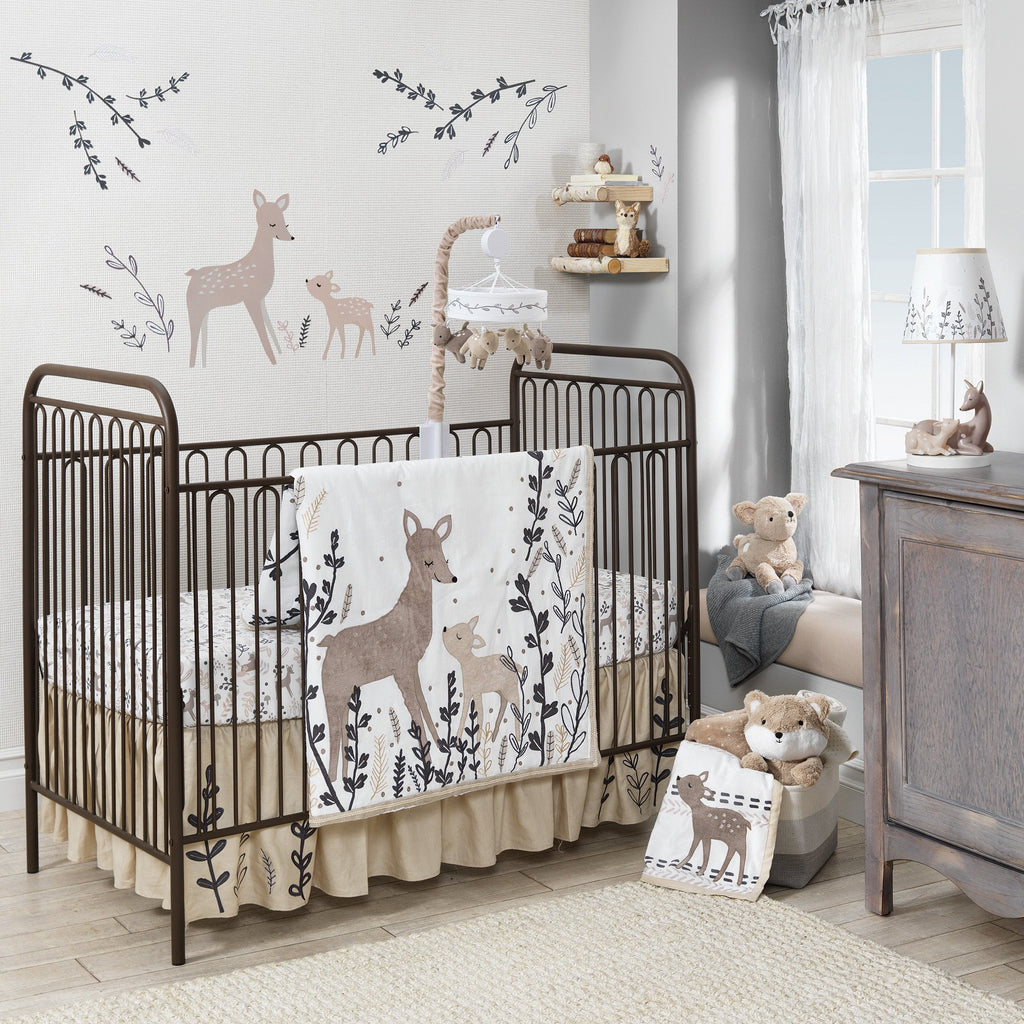 lambs & ivy Meadow 3pc Crib Bedding Set