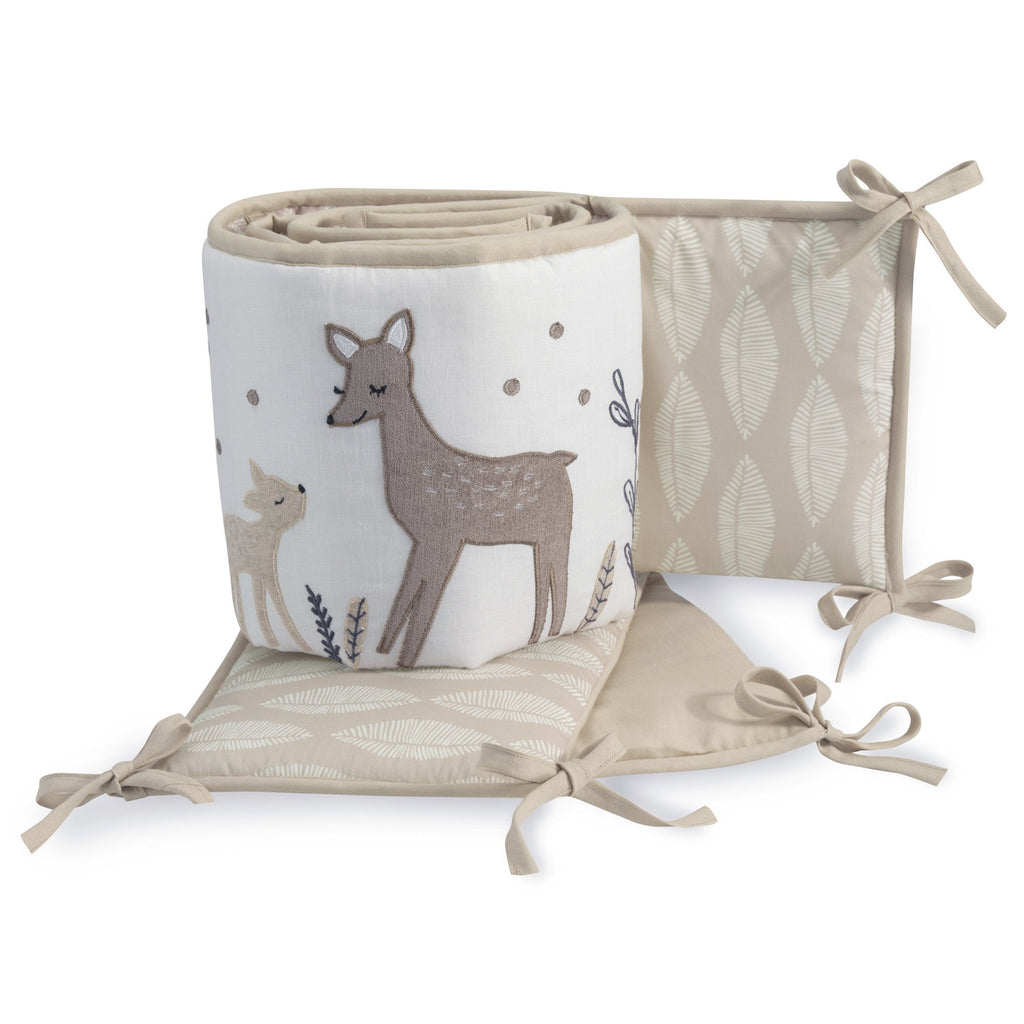 lambs & ivy Meadow Crib Bumper