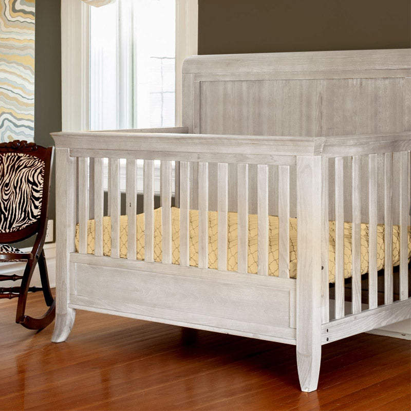 Milk Street Baby Cameo Sleigh Converible Crib - Steam