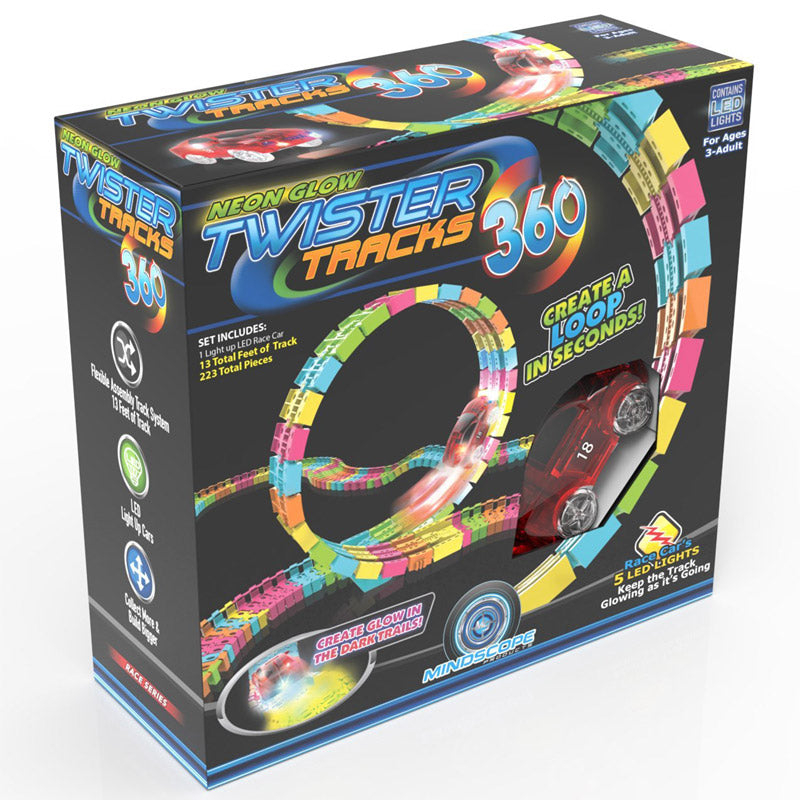 Mindscope Twister Track Glow in the Dark 306 Loop