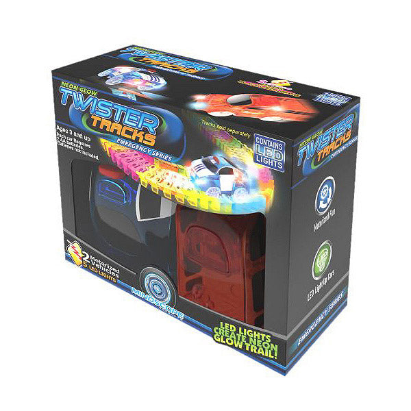 Mindscope Twister Tracks Neon Race 2 Car Add-on Set