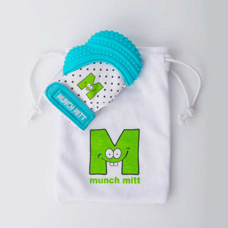 Munch Mitt - Aqua Blue