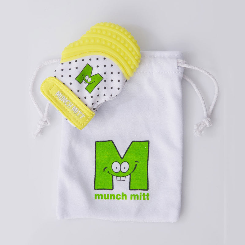 Munch Mitt Mini - Yellow
