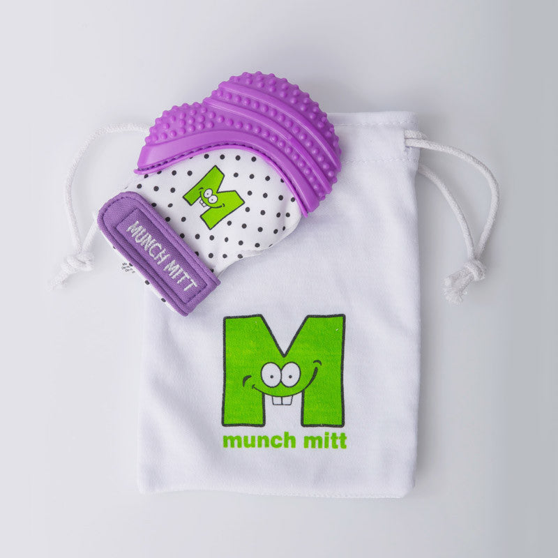 Munch Mitt - Purple Shimmer