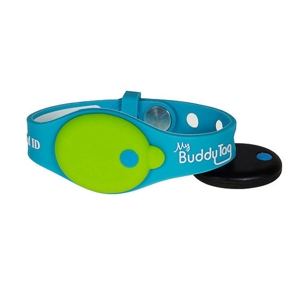 My Buddy Tag Wristband - Green/Blue