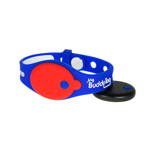 My Buddy Tag Wristband - Blue/Red