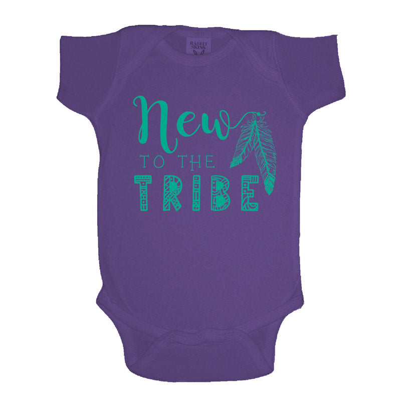 Jane Marie New To The Tribe Purple Onesie