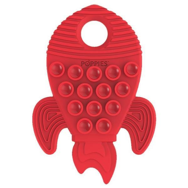 Poppies Red the Rocket Teether