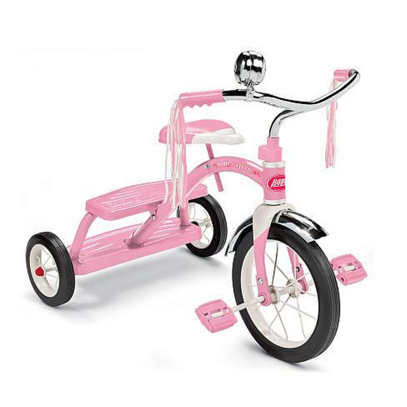 Radio Flyer Classic Dual-Deck Tricycle - Pink