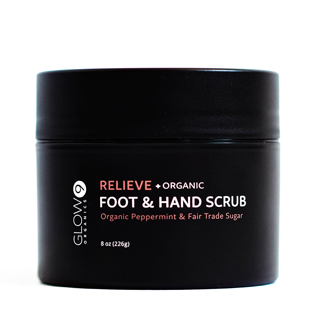 Glow Organics Relieve Foot & Hand Scrub