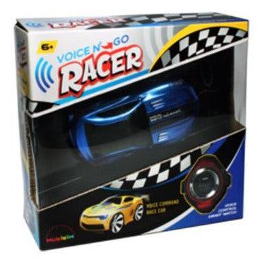 MukikiM Voice N Go RC Car - Blue