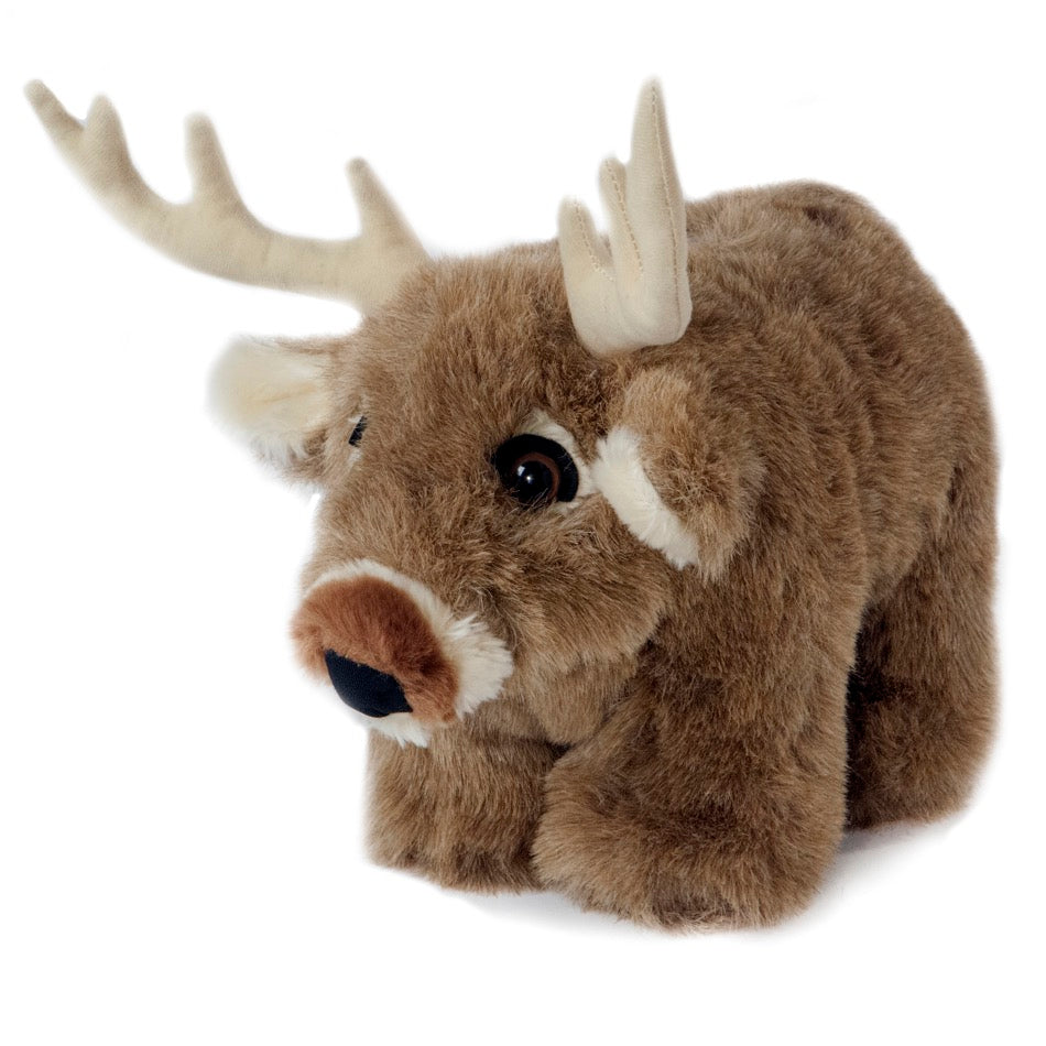 Carstens White Tail Deer Plush Coin Bank