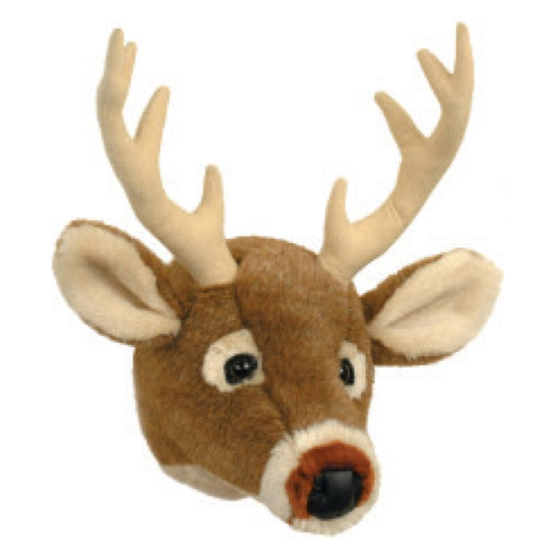 Carstens White Tail Deer Mini Plush Trophy Head