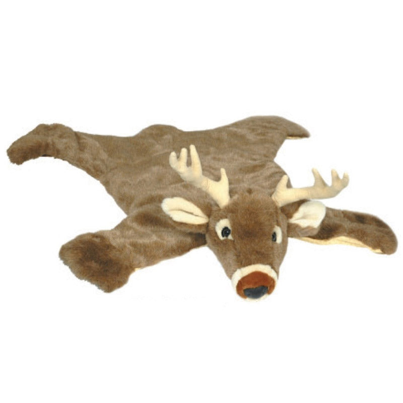 Carstens Small White Tail Deer Plush Rug